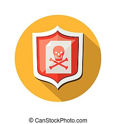 Security system technology icon vector illustration graphic...