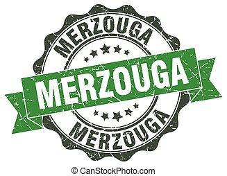 Merzouga round ribbon seal