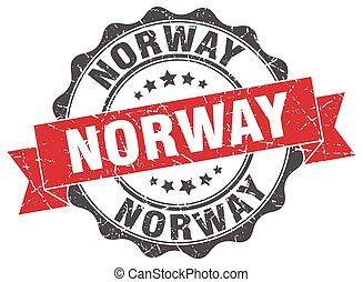 Norway round ribbon seal