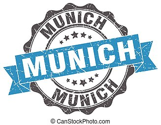 Munich round ribbon seal