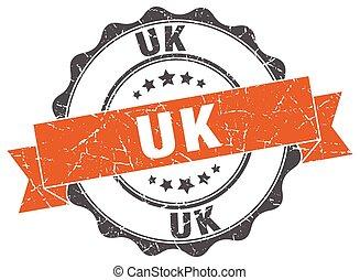 uk round ribbon seal