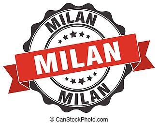 Milan round ribbon seal