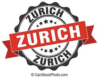 Zurich round ribbon seal