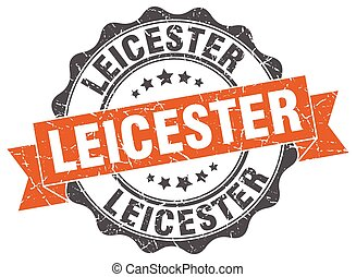 Leicester round ribbon seal