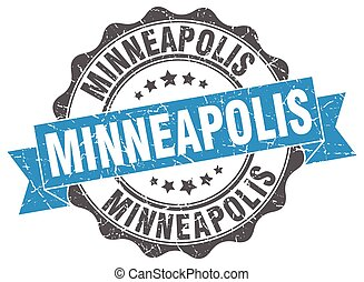 Minneapolis round ribbon seal