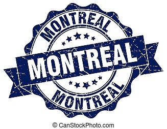 Montreal round ribbon seal