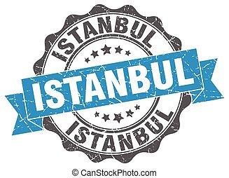 Istanbul round ribbon seal