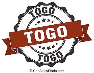 Togo round ribbon seal