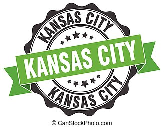Kansas City round ribbon seal