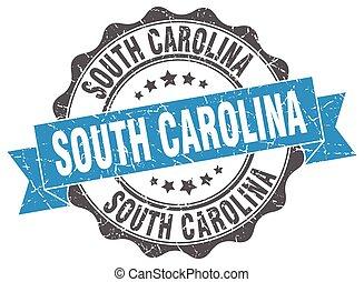 South Carolina round ribbon seal