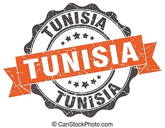 Tunisia round ribbon seal