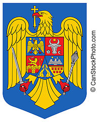 Romania Coat of Arms - Romania coat of arms, seal or...