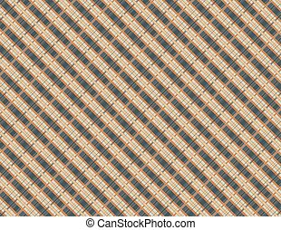 Square geometrical abstract background Vector. Modern...