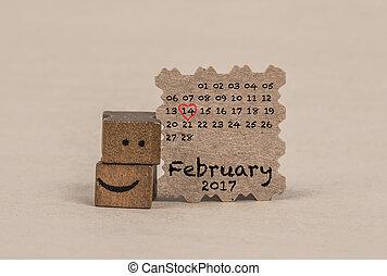 Fevereiro, Calendário,  2017