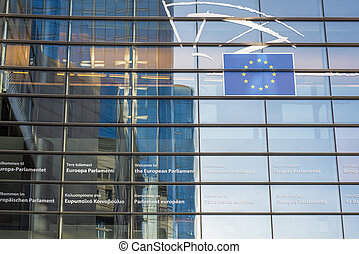 European Parliament in Brussel - Photo of European...