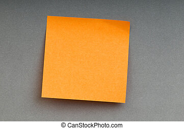 Reminder notes on the bright colorful paper