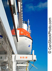 lifeboats on cruise ship - pictures of lifeboats aboard a...