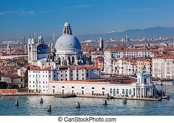 Basilica Santa Maria della Salute in Venice, Italy
