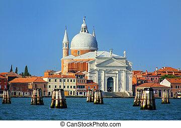 Basilica del Santissimo Redentore on Giudecca island in...