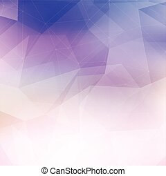 abstract low poly background 1209 - Abstract background with...