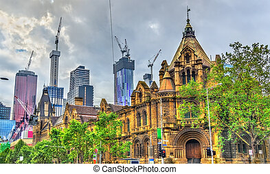 The Former Magistrates Court in Melbourne, Australia