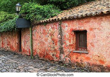 Calle de los Suspiros (Street of Sighs) in Colonia del...