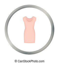 Tunic icon of vector illustration for web and mobile design...