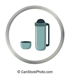 Thermos icon of vector illustration for web and mobile...