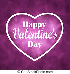 Valentine s Day. Heart for design greetings