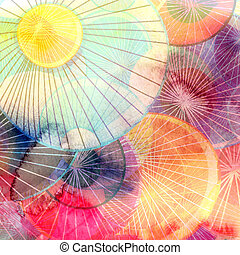 Abstract watercolor background - Abstract watercolor...