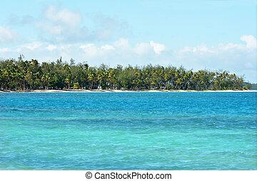 The Blue Lagoon on Nanuya Lailai Island Fiji