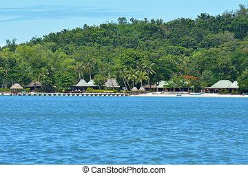 gruppo,  Yasawa, isola,  Levu,  nanuya, Figi
