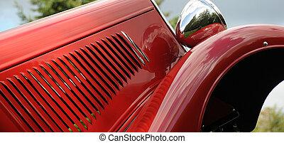 Classic custom automobile.
