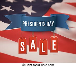 Presidents Day sale background template. - Presidents Day...