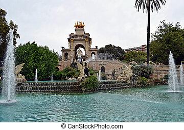Parque de la Ciudadela en España