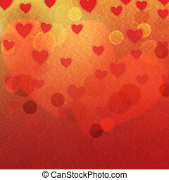 Graphic illustration. - Love background. Happy Valentine`s...