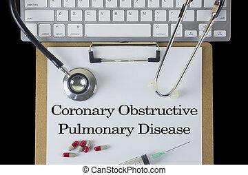 Coronary Obstructive Pulmonary Disease.