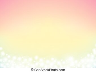 dreamy fairy tale abstrack sparkling frame background