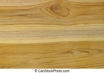 Grains on teak wood