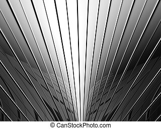 Aluminum stripe pattern background 3d illustration