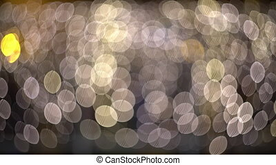 ambient abstract bokeh particles background 4k video -...