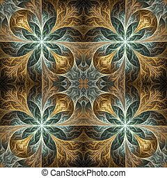 Fabulous seamless background in mosaic style. You can use it...