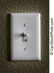Light Switch for Tunring on or off Power Electricity -...