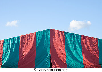 Circus Tent Abstraction - Creative Treatment of a Circus...