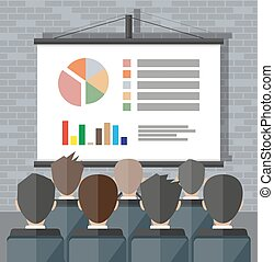 Training staff, meeting, report, business school