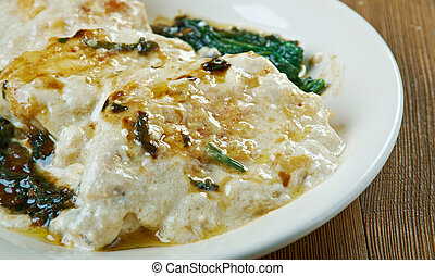 Chicken Florentine - Italian favorite uses cream of mushroom...