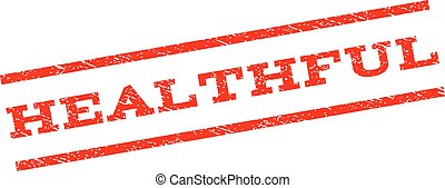 Healthful Watermark Stamp - Healthful watermark stamp. Text...