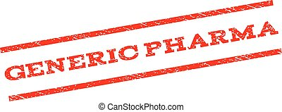 Generic Pharma Watermark Stamp