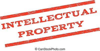 Intellectual Property Watermark Stamp - Intellectual...