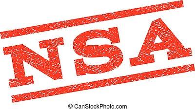 NSA Watermark Stamp - NSA watermark stamp. Text tag between...